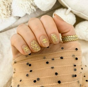 CHANEL Nail Decal Stickers